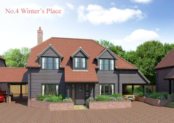 New Homes For Sale In Allbrook Chandlers Ford Hampshire